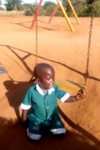 Crying Kid in Kindergarten